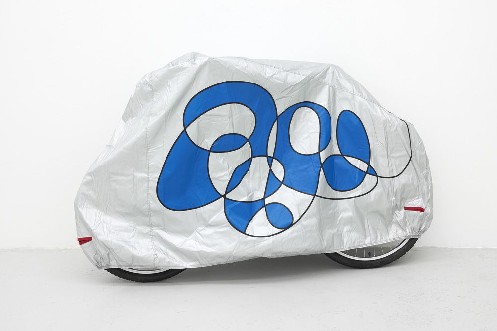 Untitled (Bicycle Cover), 2018